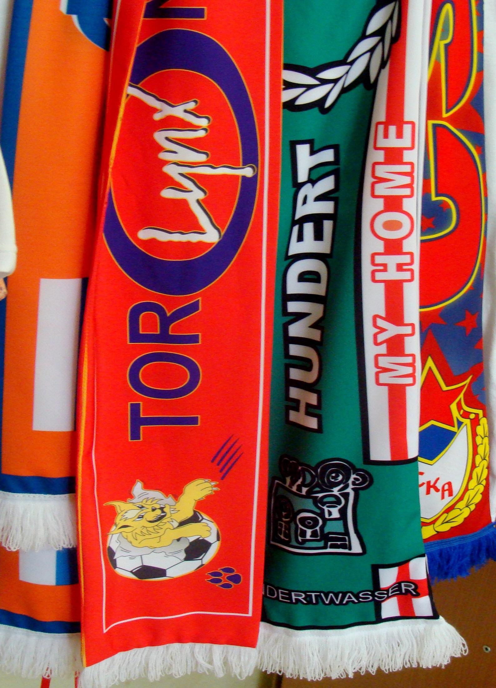 шарфы на заказ рисунком