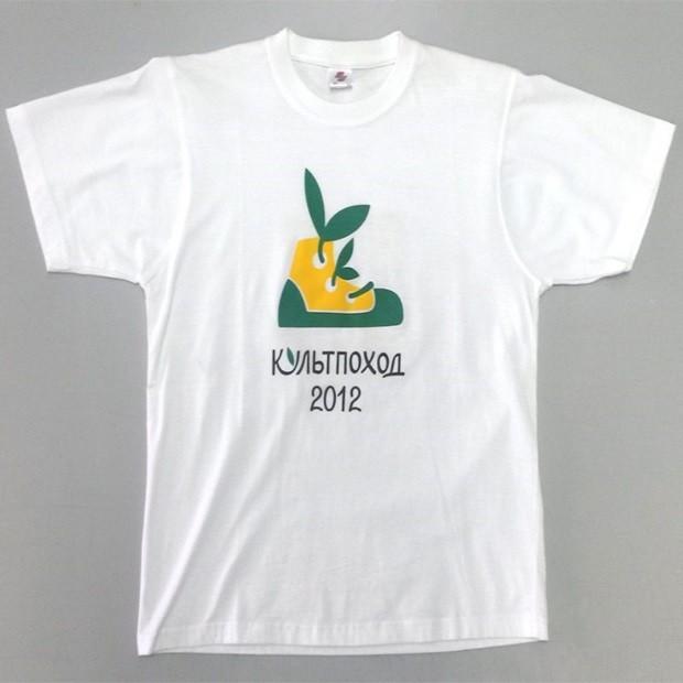 футболка шелкография