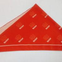 печать логотипа на ткани на заказ