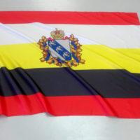 флаг Курской области с флагштоком