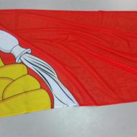 изготовить печать на флаги