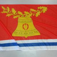 Флаг района с флаштоком