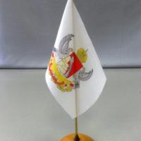флажок с гербом Воронежа таффета