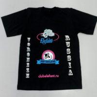 производство печати на футболках