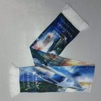 изготовление печати на шарфах