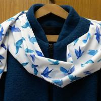 печать фотопринта на шарфах Воронеж
