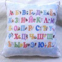 подушка с пайетками рисунок